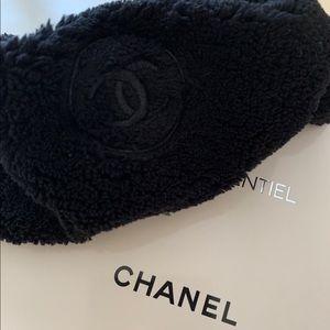 NEW Authentic Black Chanel Headband